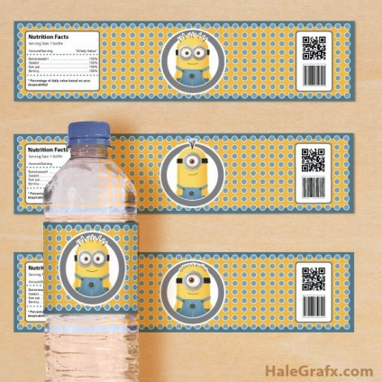 minion-water-bottle-labels