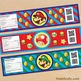 mario-water-bottle-labels