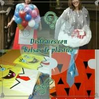 Disfraces con bolsas de plástico (sencillos y baratos)