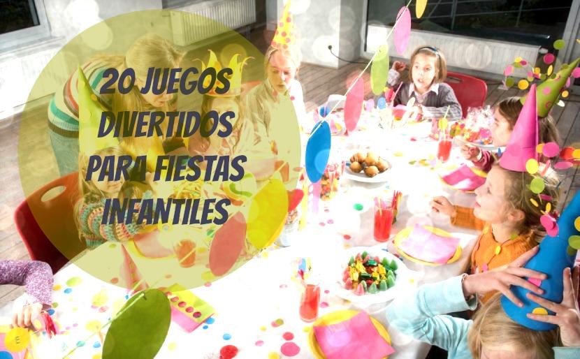 juegos para cumpleaos y fiestas infantiles