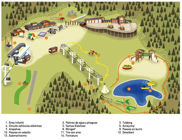 mapa-family-park-canillo