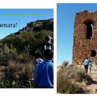 Subida al Castillo de Almenara... ¡a la conquista!