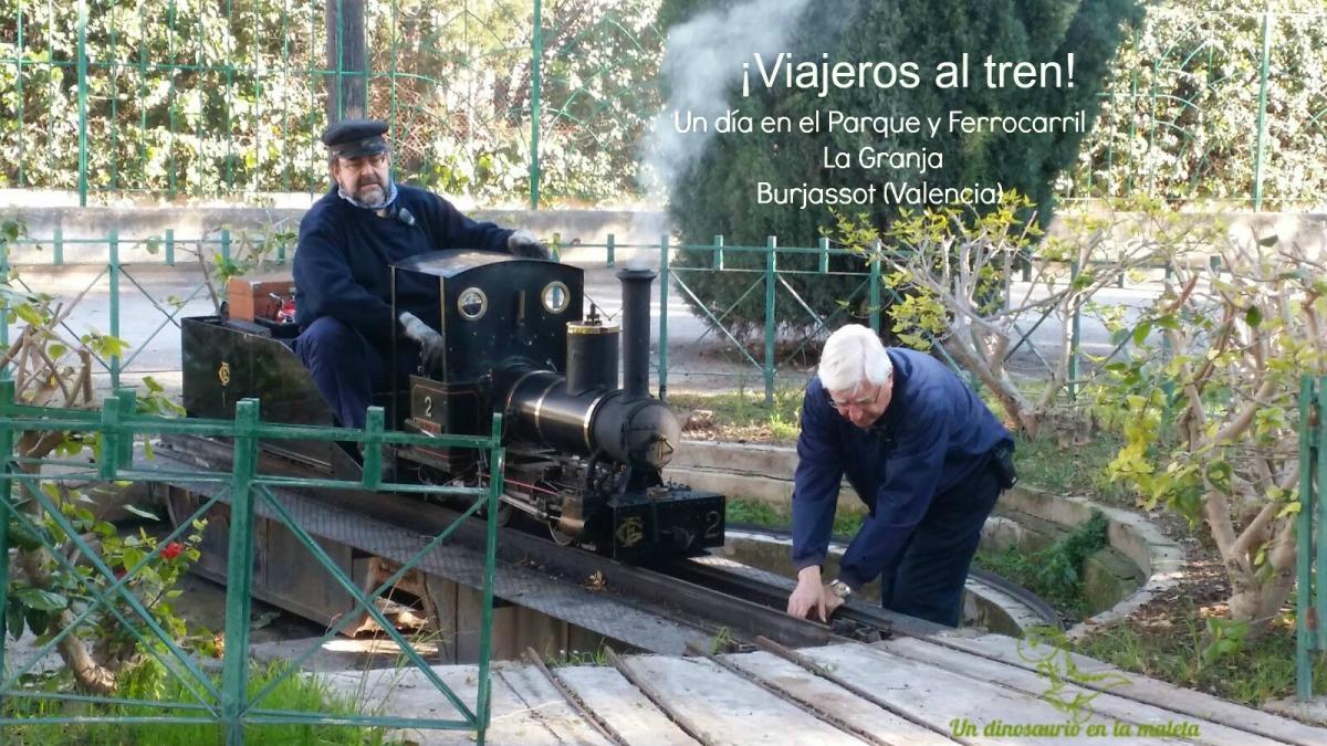 Ferrocarril y parque de La Granja, Burjassot (Valencia)