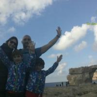 En ferry a la Isla de Gozo (Malta)